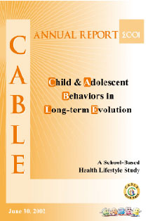 report cover 2001